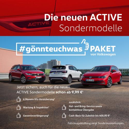 ACTIVE Sondermodelle #gönnteuchwas-Paket